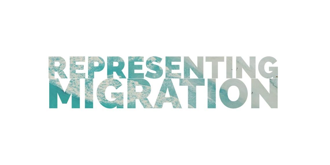 Representing migration logo
